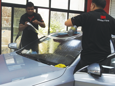 Car tinting Dubai